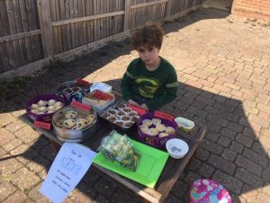 Local boy Henry aged 9 is 'star baker' for Queen Victoria Hospital