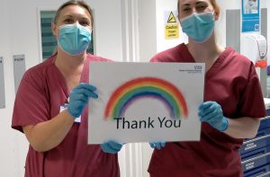 QVH Charity marks NHS birthday with a thank you to supporters